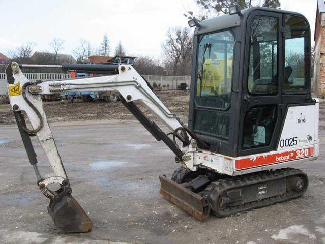 Bobcat 320 320L 322 X320 X320L X322  Mini Excavator Workshop Service Manual