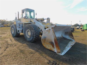 Komatsu WA450-3LL Log Loader Official Workshop Service Repair Technical Manual