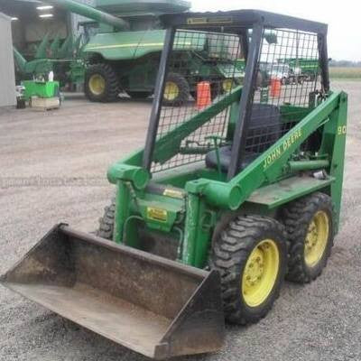 John Deere 90 Skid Steer Loader Technical Service Repair Manual