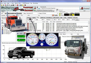 PF-Diagnose 2.0.2.23 Diagnostics Software 2013 - Full Heavy - Medium Duty avec support OBDII - Service d'installation en ligne