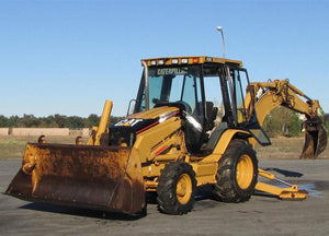 Caterpillar 420D Backhoe Loader Official Workshop Service Repair Manual S/N : BKC