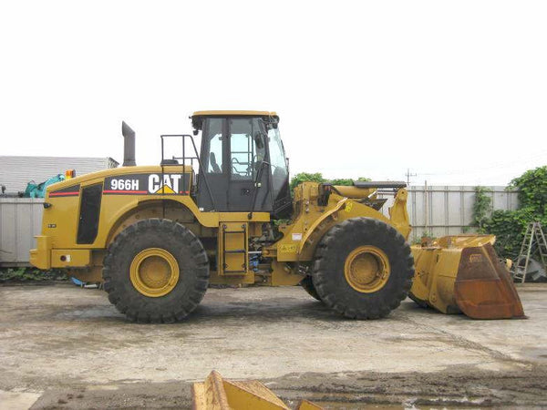 Caterpillar 966h And 972h Wheel Loader Hydraulic System