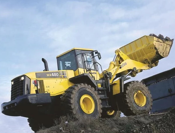 Komatsu WA470-5H WA480-5H Wheel Loader Official Workshop Service Manual Part 1