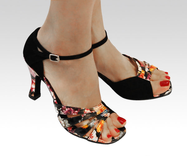 "3"" heel dance shoes"