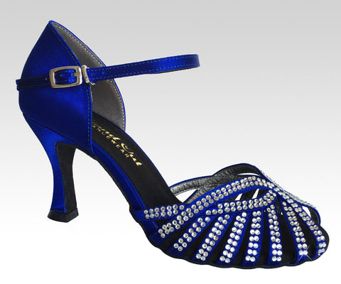 "Elsa Royal Blue 3""heel - StandOut Dancewear"
