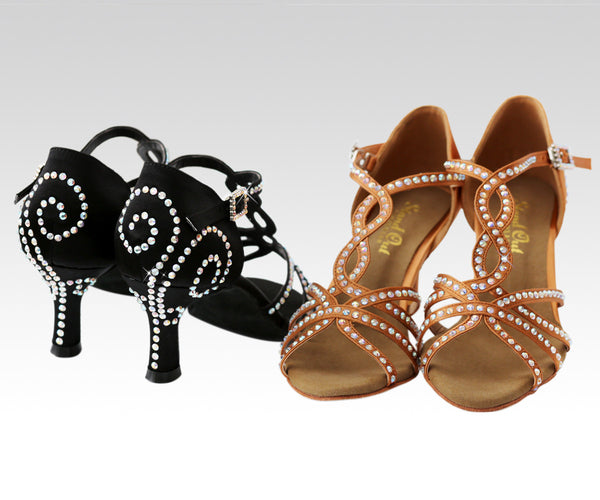 "3"" heel dance shoes uk"