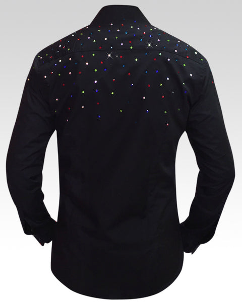 sparkly dance shirts