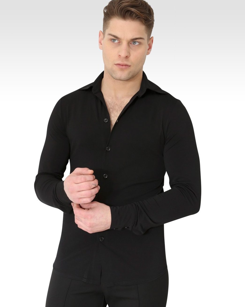 mens dance shirt uk