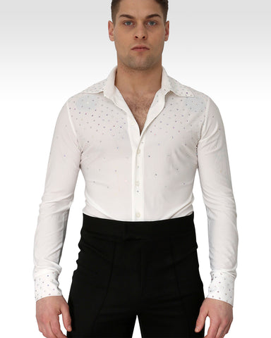 William Dance Shirt Ecru