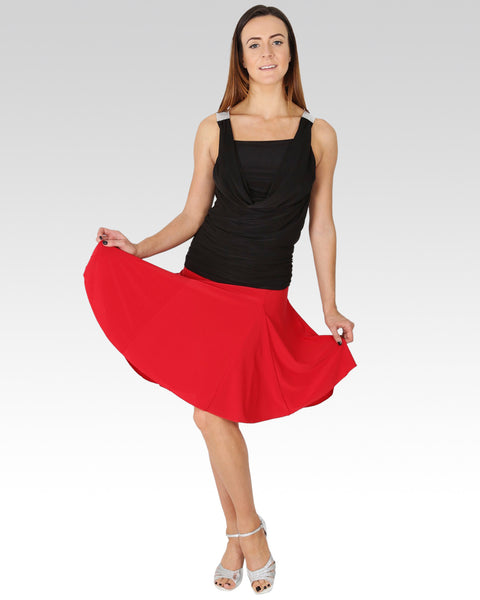 Maria Skirt Red - StandOut Dancewear