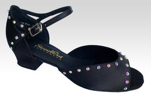 Amy Crystals Black