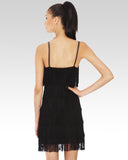 Fringe Dress Black - StandOut Dancewear