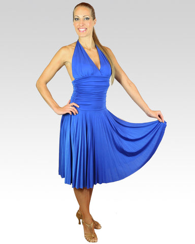 Marilyn Dress Blue - StandOut Dancewear