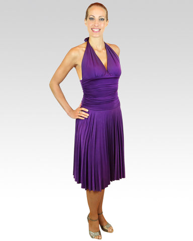Marilyn Dress Purple - StandOut Dancewear