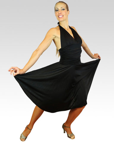 Marilyn Dress Black - StandOut Dancewear