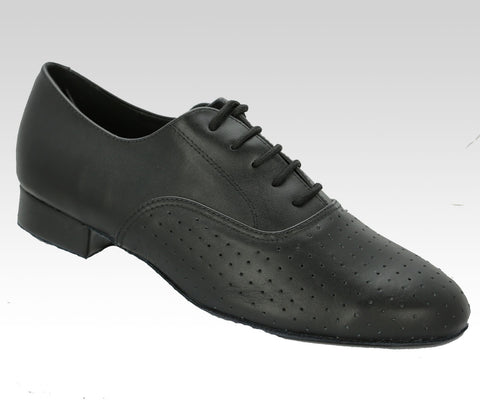mens latin and ballroom dance shoes black leather