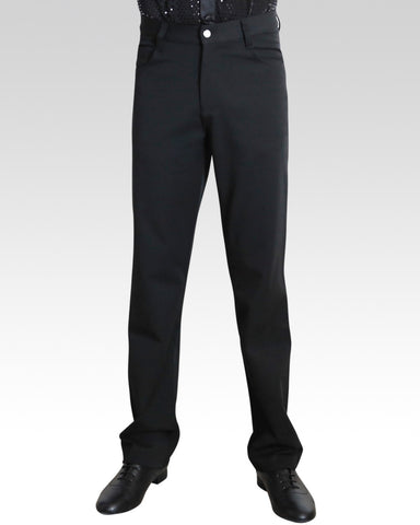 mens stretchy ballroom latin dance trousers