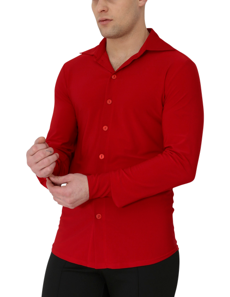 Adam Dance Shirt  Red