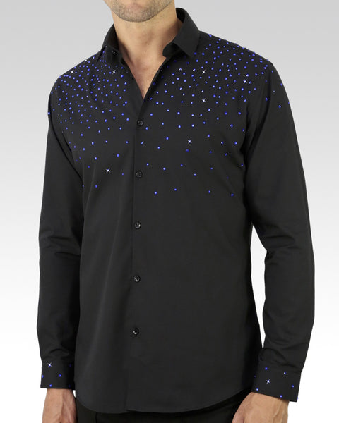 mens latin dance wear