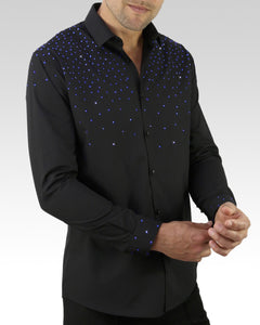 mens competition dance shirt