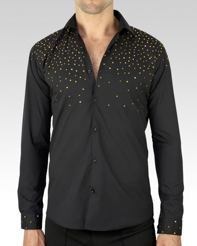Quick Dry Dance Shirt Gold