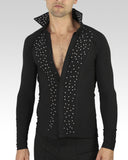 latin mens dance shirt