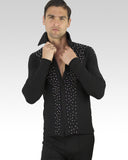 boys latin dance shirt