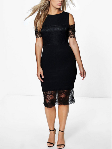 plus size dance dress