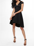 Dila Latin Dress- Black