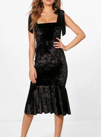Saisha Dance Dress-Black
