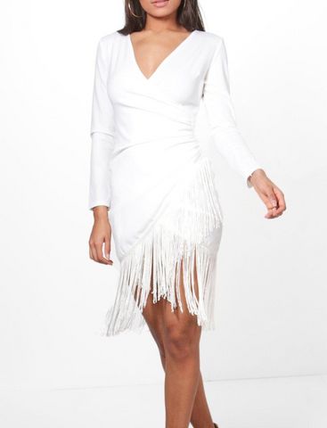 Niam Dance Dress-White