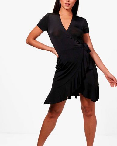 Maya Dance Dress- Black