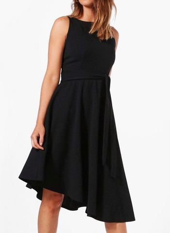 Poppy Elegance Dance Dress-Black