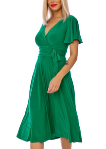 Ciara Dress- Green