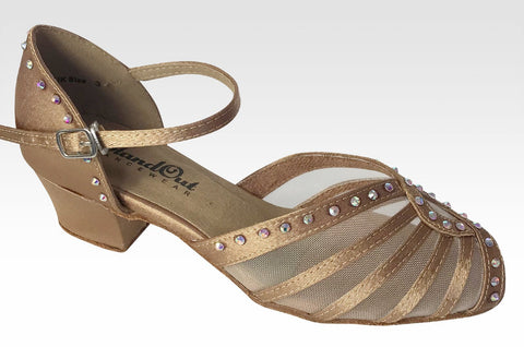 Elina Crystals Dark Tan