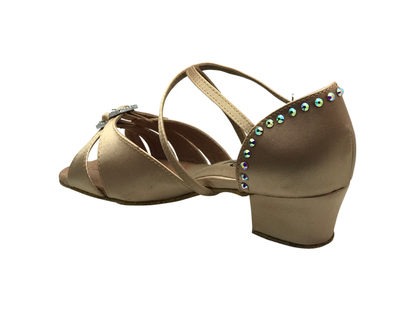 nude sparkly dance shoes uk