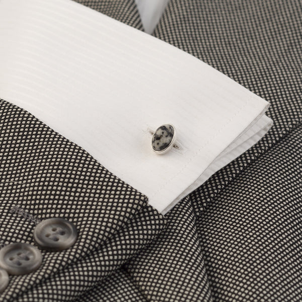 Barrow Cufflink Donegal Granite