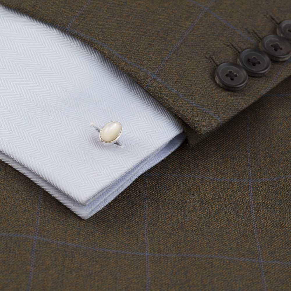 Barrow Cufflink Mother of Pearl