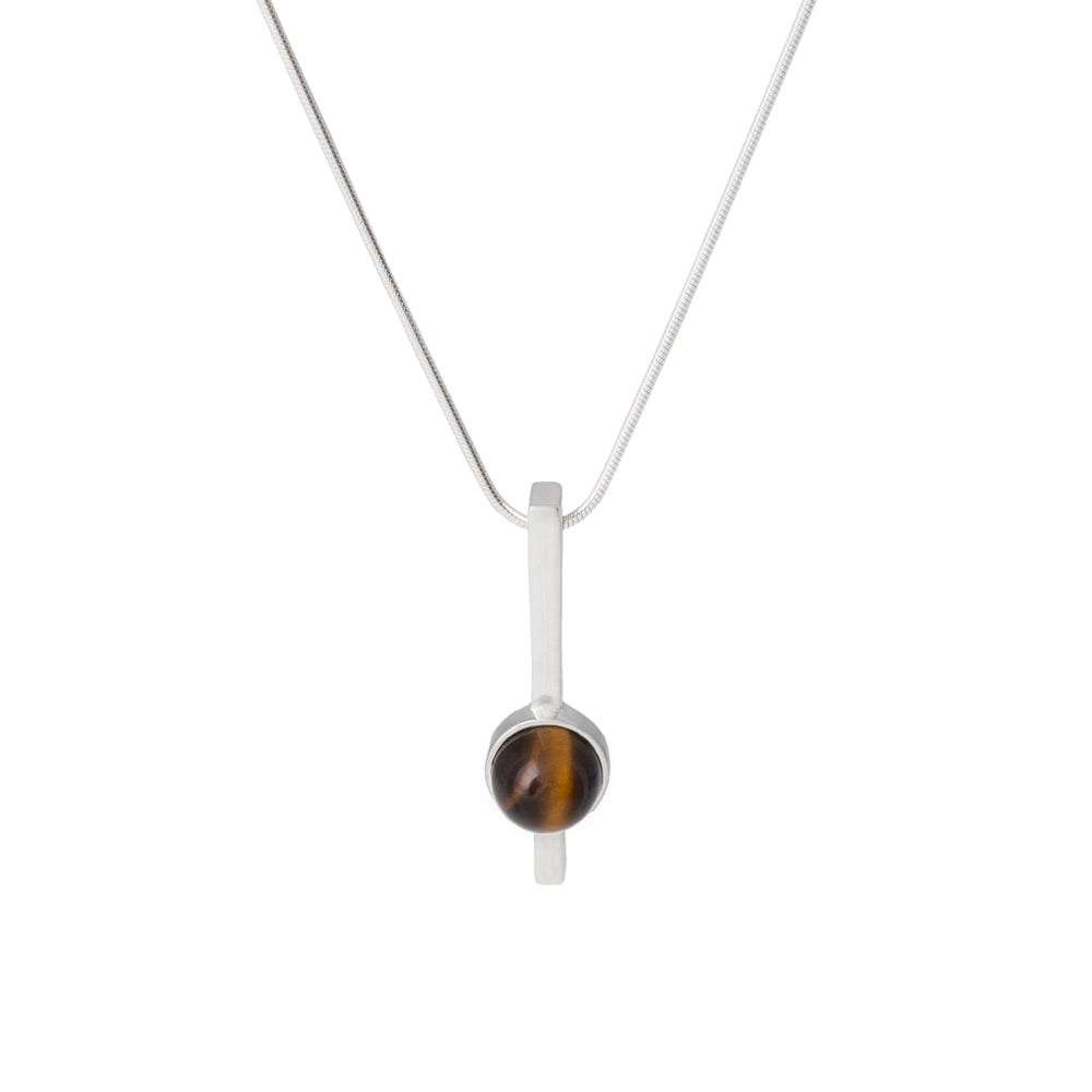 Bar Pendant Cairn Tiger Eye