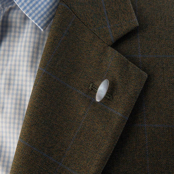 Bourn Lapel Pin Mother of Pearl
