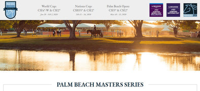 OFF TO THE PALM BEACH MASTERS