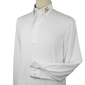 Essex Classics Babington Strong Men's Talent Yarn Show Shirt - Equestrian Chic Boutique