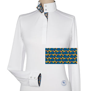 Essex Classics Carrots Ladies Talent Yarn Straight Collar Show Shirt