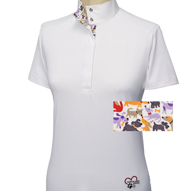 Essex Classics Danny & Ron's Rescue Ladies Short Sleeve Show Shirt
