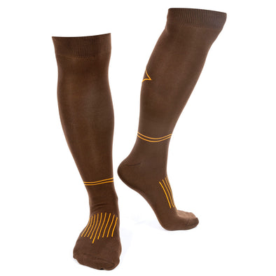 Fabbri Riding Socks - Brown - Equestrian Chic Boutique