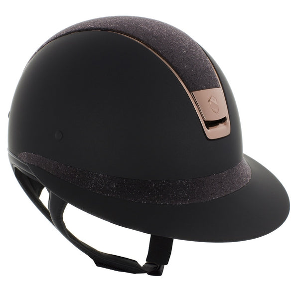 Samshield Miss Shield Shadow Matt - Pink Gold - Equestrian Chic Boutique