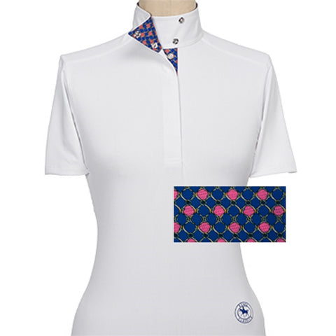 Essex Classics Chaine Ladies Short Sleeve Show Shirt