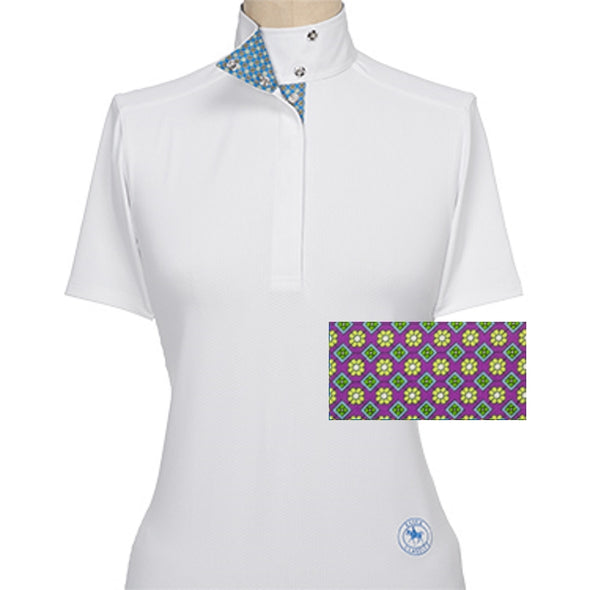 Essex Classics Fiore Ladies Short Sleeve Show Shirt