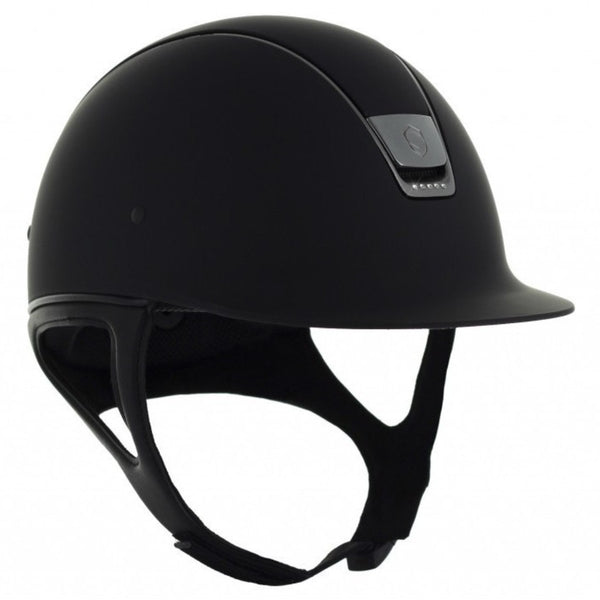 Samshield Shadow Matt 5 SWAROVSKI CRYSTAL Helmet - Black - Equestrian Chic Boutique