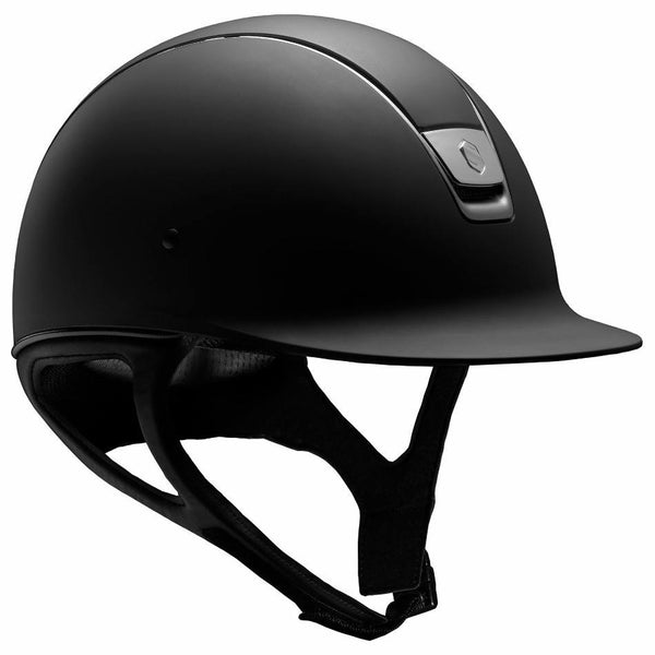Samshield SHADOW MATTE Helmet - Black - Equestrian Chic Boutique